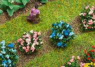 Faller HO Scale Model Railroad/Train Layout Scenery 12 Hydrangea Bushes/Plants