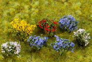 Faller HO Scale Model Railroad/Train Layout Scenery 14 Flowering Bushes/Plants