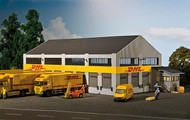 Faller HO Scale Building/Structure Kit DHL Logistic Center Warehouse Facility