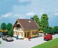 Faller HO Scale Building/Structure Kit 1.5 Story Succo House/Home with Balcony