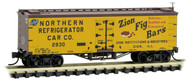 Micro-Trains MTL N-Scale 36ft Wood Reefer Farm-to-Ta​ble #10 Zion/NRCC #2930