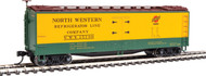 Walthers HO Scale 40' Early Reefer North Western Refrigerator Line/CNW #15130