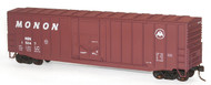 Accurail HO Scale Kit 50' Exterior-Post Modern Box Car Monon (Small Logo) #15047