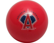 MLB Imperial Los Angeles Angels Pool Billiard Cue/8 Ball - Old Style