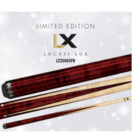 Lucasi Custom LZ2000SPR Birdseye Sneaky Pete Crimson Red Pool/Billiards Cue