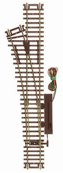 Atlas HO Scale Code 83 Remote Left-Hand Turnout/Switch Model Train Track