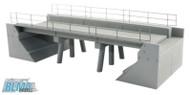 Atlas/BLMA Model HO Scale Modern Concrete Segmental Single Track Railroad Bridge