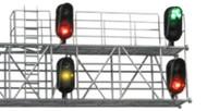 Atlas/BLMA Models HO Scale Modern Modern Hooded Railroad Signal Heads (2-Pack)
