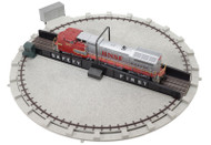Atlas O Scale Model Railroad Train Building 24 Inch Motorized Turntable