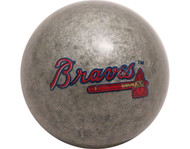MLB Imperial Atlanta Braves Pool Billiard Cue/8 Ball - Silver - Old Style