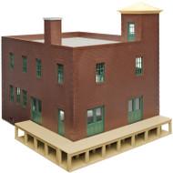 Atlas O Scale Model Train Hillside Series Building Kit Fairview Farm Dairy