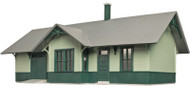 Atlas O Scale Model Railroad Train Hillside Series Building Kit Riverton Station