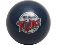 MLB Imperial Minnesota Twins Pool Billiard Cue/8 Ball - Retro
