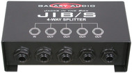 Galaxy Audio Jacks in the Box - TRS 4-Way Splitter - 1 TRS Input/4 TRS Outputs