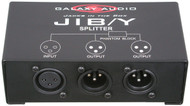 Galaxy Audio Jacks in the Box - XLR Splitter - 1 Input /2 Output