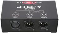 Galaxy Audio Jacks in the Box - XLR Splitter - 1 Input /2 Output