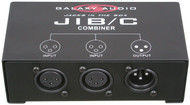 Galaxy Audio Jacks in the Box - XLR Combiner for Microphone - 2 Input /1 Output