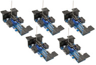 Walthers Layout Control System Slow Motion Horizontal Switch Machine 5-Pack