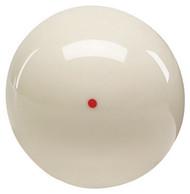 Genuine Aramith Brand Weighted Orange Dot (Dynamo Tables) Pool/Billiard Cue Ball