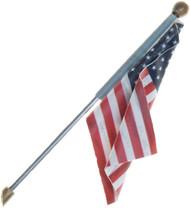 Woodland Scenics Just Plug Lighting System Wall Mount US Flag (Large) w/ Light