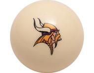 NFL Imperial Minnesota Vikings Pool Billiard Cue/8 Ball - Old Style
