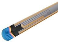 McDermott Intimidator i-Pro Pool/Billiard Cue Shaft 3/8x10 Black Collar 12.5mm