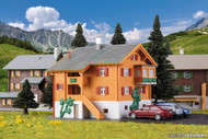 Kibri Z Scale Building/Structure Kit Old Forester's Lodge Alpine House/Home