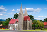Kibri Z Scale Building/Structure Kit Goppingen Medeival Church/Chapel