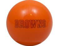 NFL Imperial Cleveland Browns Pool Billiard Cue/8 Ball - Orange