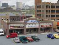 Walthers Cornerstone N Scale Building/Structure Kit Modern Shopping Center I