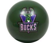 NBA Imperial Milwaukee Bucks Pool Billiard Cue/8 Ball - Green