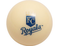 MLB Imperial Kansas City Royals Pool Billiard Cue/8 Ball - Old Style