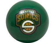 NBA Imperial Seattle Supersonics Pool Billiard Cue/8 Ball - Green