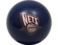 NBA Imperial New Jersey Nets Pool Billiard Cue/8 Ball - Blue