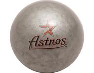 MLB Imperial Houston Astros Pool Billiard Cue/8 Ball - Grey - Old Style