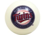 MLB Imperial Minnesota Twins Pool Billiard Cue/8 Ball - White