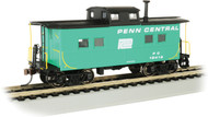 Bachmann HO Scale NortheastStyle Steel Cupola Caboose Penn Central/PC #18419