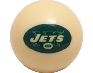NFL Imperial New York Jets Pool Billiard Cue/8 Ball - Old Style