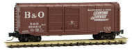 Micro-Trains MTL Z-Scale 40ft Double Door Box Car Baltimore & Ohio/B&O #294212