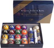 Genuine Belgian Super Aramith Pro Value Pack Pool/Billiard Ball Set (Phenolic)