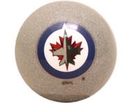 NHL Imperial Winnipeg Jets Pool Billiard Cue/8 Ball -  Silver