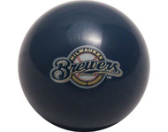 MLB Imperial Milwaukee Brewers Pool Billiard Cue/8 Ball - Old Style