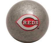 MLB Imperial Cincinnati Reds Pool Billiard Cue/8 Ball - Silver - Old Style