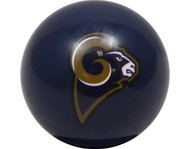 NFL Imperial St Louis Rams Pool Billiard Cue/8 Ball - Blue