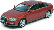 Atlas O Scale Audi A6 Sedan Model Car (Assembled) Burgundy