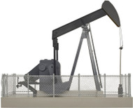 Atlas O Scale Building/Structure Operating Oil Pump (Assembled) Black