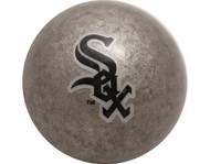MLB Imperial Chicago White Sox Pool Billiard Cue/8 Ball - Silver - Old Style