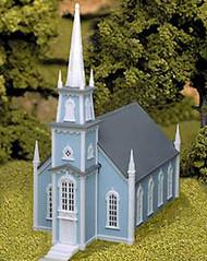 Atlas HO Scale Model Railroad Building Kit 19th Century American Church