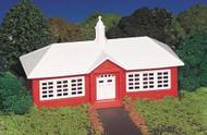 Bachmann HO Scale Plasticville Classic Building/Structure Kit - School House