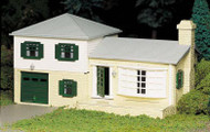 Plasticville O Scale USA Classic Building/Structure Kit Two-Story Split-Level House